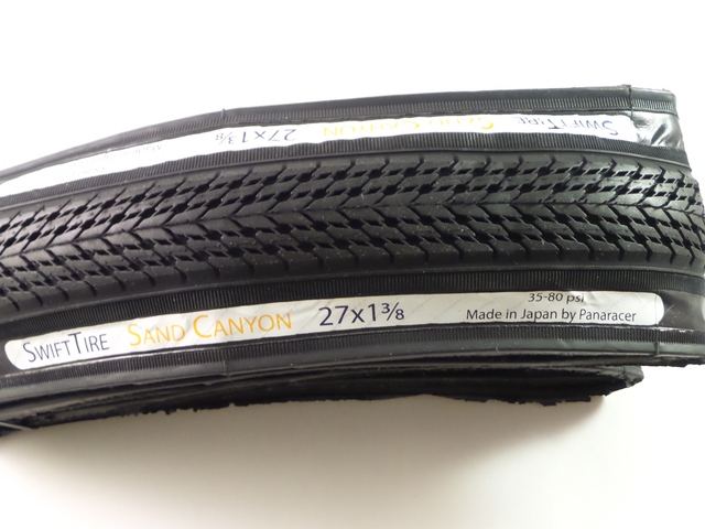 "SwiftTire 27"" x 1 3/8"" Tire & Tube Combo - Made by Panaracer"